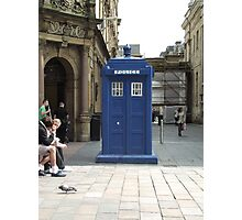 A TARDIS in Glasgow?  Photographic Print
