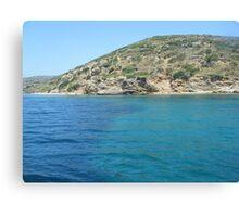 Beautiful Greek Island  Canvas Print