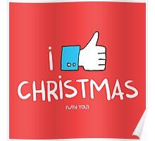 i like Christmas (with you) Poster
