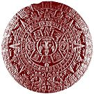 Aztec Calendar Stone by monsterplanet