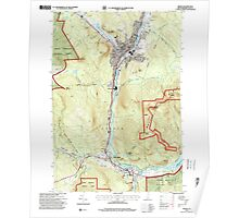 USGS TOPO Map New Hampshire NH Berlin 329482 1995 24000 Poster