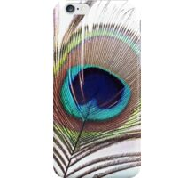 Feather of  a Peacock iPhone Case/Skin