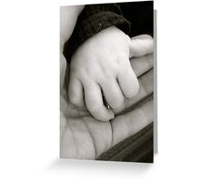 Hand in Hand Greeting Card