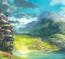Howl's Moving Castle by smittinman