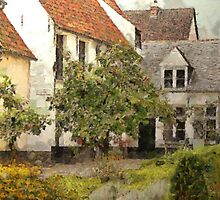 Beguinage Lier - Belgium by Gilberte