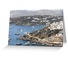 Magnificent Greek Islands Greeting Card