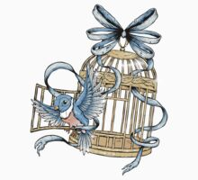 Bird With Cage by Ella Mobbs
