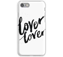 Lover Lover – Lettering iPhone Case/Skin