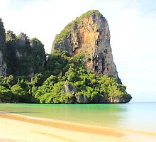 West Railay Beach - Thailand by Honor Kyne