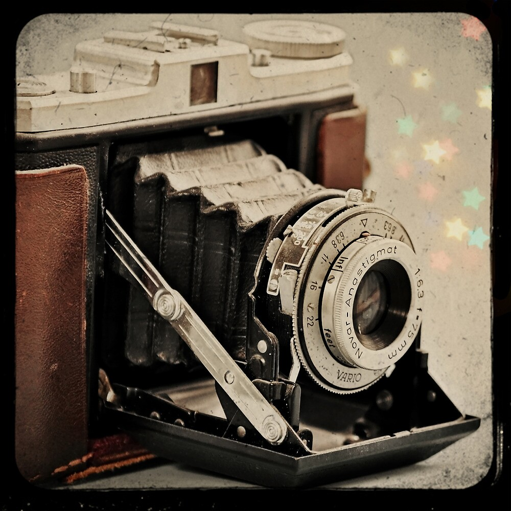 Camera Magic (Vintage Zeiss Ikon) by Sarah Thompson-Akers