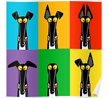 Greyhound Semaphore Poster