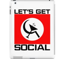 Let's Get Social iPad Case/Skin