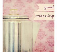 Good Morning, Coffee Photographic Print