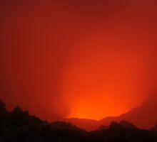 Niri Taten vent. Ambrym volcano. Vanuatu. by Ian Hallmond