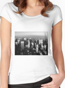 Stunning! New York City Vintage 1970's Women's Fitted Scoop T-Shirt