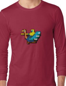 Joust Arcade Game Sprite Long Sleeve T-Shirt
