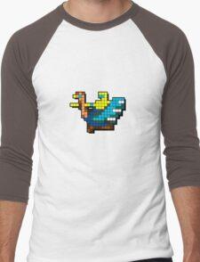 Joust Arcade Game Sprite Men's Baseball ¾ T-Shirt