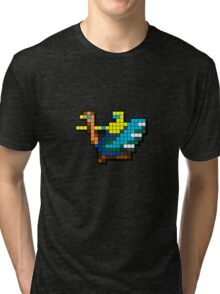 Joust Arcade Game Sprite Tri-blend T-Shirt