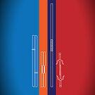 Leonardo, Michelangelo, Donatello, Raphael - Stripes iPad Case by D4N13L