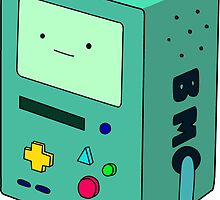 BMO adventure time by jeme