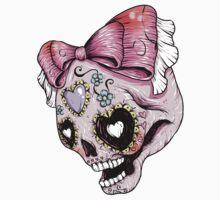 Pink Sugar Skull by Ella Mobbs