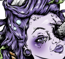 Severed Anchor Head (Purple) Sticker