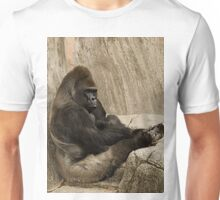 Bored to Death Gorilla  Unisex T-Shirt