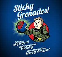 Sticky Greandes! - iPad Case by D4N13L