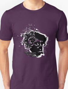 Terrance Mckenna Head Ohm Explosion Unisex T-Shirt