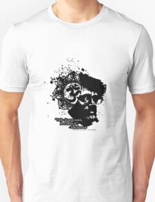 Terrance Mckenna Head Ohm Explosion T-Shirt