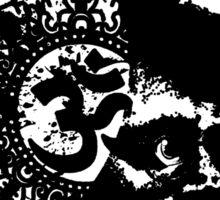 Terrance Mckenna Head Ohm Explosion Sticker
