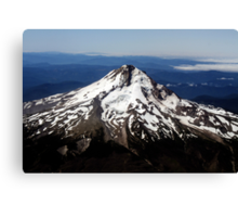 Aerial View of Mt. Hood Canvas Print