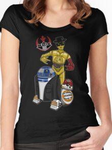 Beastie Bots Women's Fitted Scoop T-Shirt
