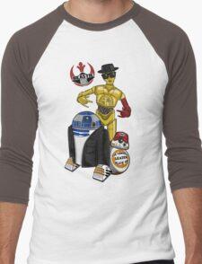 Beastie Bots Men's Baseball ¾ T-Shirt