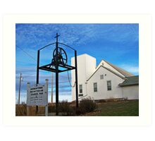 Germantown Presbyterian Church Art Print