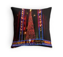 Radio City Hall  Throw Pillow