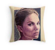 Natalie Portman Throw Pillow