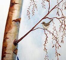Winter Wrens by Denise Martin