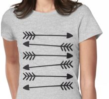 Hand Drawn Arrows 2 Womens Fitted T-Shirt