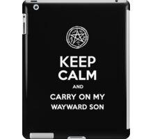 Keep Calm - Devil's Trap iPad Case/Skin