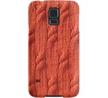 Firefly cable knit Samsung Galaxy Case/Skin