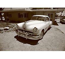 Route 66 - Classic Pontiac Photographic Print