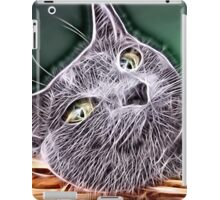 Wild nature - cat #7 iPad Case/Skin
