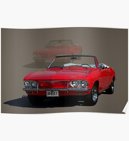 1965 Chevrolet Corvair Convertible Poster