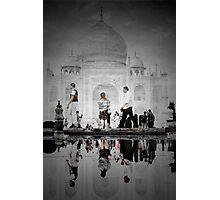One Morning at the Taj Photographic Print