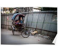 Sleeping in the Streets of Thamel Poster