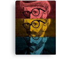 Hipster Van Gogh Canvas Print