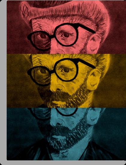 Hipster Van Gogh by Josrick
