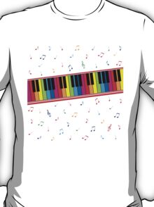 Colorful Piano T-Shirt