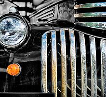 Rusted Bedford Truck Grill by JohnKarmouche
